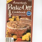 Pillsbury America's Bake Off Cookbook 29th 1980