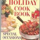 Better Homes & Gardens Holiday Cook Book Cookbook Vintage