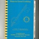 Regional Keys To Good Cooking Cookbook 1986 Brighton Rotary New York