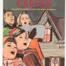Vintage Christmas Carols By Karl Schulte Western Publishing Co.