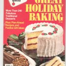 Woman's Day Great Holiday Baking Magazine Back Issue October 1982