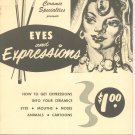 Ceramic Specialties Presents Eyes And Expressions Vintage