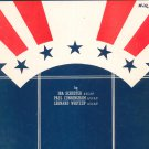 Shout Wherever You May Be I Am An American Vintage Sheet Music Mercer & Morris
