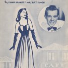 And Mimi By Jimmy Kennedy & Nat Simon Vintage Sheet Music Shapiro Bernstein & Co.