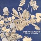 Nodding Flowers By Frances Williams Sheet Music Vintage Harold Flammer Publisher