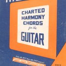 Vintage Moyer's Charted Harmony Chords For The Guitar Chart Music Publishing House
