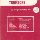 Vintage 20 Years 20 Hits For Trombone With Piano Number 1 Robbins Music Corp.