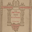 Vintage Second Grade Standard Compositions For The Piano W. S. B. Mathews Theo Presser