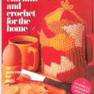 Vintage All You Can Knit And Crochet For The Home 50 Patterns 1972
