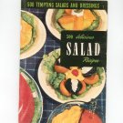Vintage 500 Tempting Salads And Dressings Cookbook Culinary Arts Encyclopedia Of Cooking 7 1954