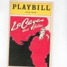 Playbill LaCage Aux Folles Palace Theatre Souvenir Program 1985