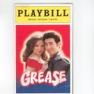 Playbill Grease Brooks Atkinson Theatre Souvenir Program