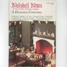Nutshell News Complete Miniatures Hobbyist Magazine Back Issue December 1983 Craft