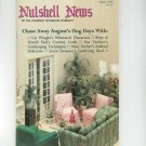 Nutshell News Complete Miniatures Hobbyist Magazine Back Issue August 1986 Craft