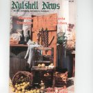 Nutshell News Complete Miniatures Hobbyist Magazine Back Issue March 1986 Craft