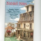 Nutshell News Complete Miniatures Hobbyist Magazine Back Issue September 1986 Craft