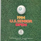 1984 U.S. Senior Open Souvenir Program Oak Hill Country Club Rochester NY Golf