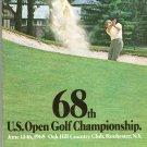 68th U.S. Open Golf Championship Souvenir Program Oak Hill Country Club Rochester NY 1968