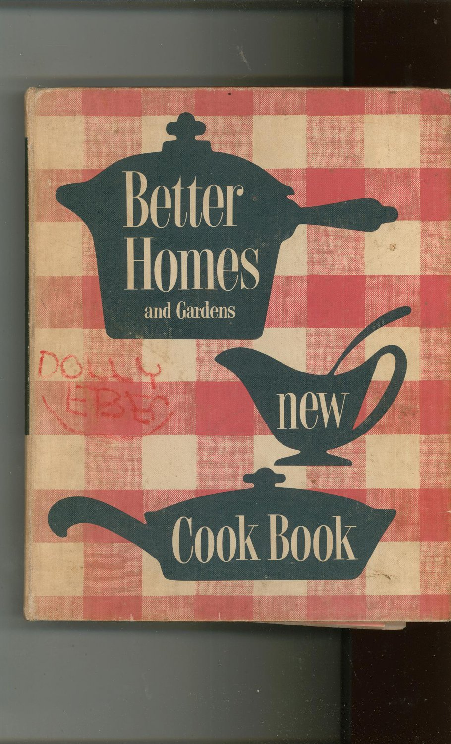Vintage Better Homes And Gardens New Cook Book Cookbook