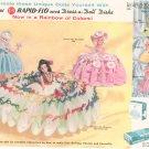 Vintage Rapid Flo & Dress A Doll Disks Advertisement 1957