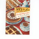 Vintage Nestle&#39;s Chocolate Kitchen Recipes Cookbook By Jane Fulton 1951
