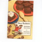 Vintage Brer Rabbit's Modern Recipes For Modern Living Cookbook Molasses