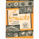 Vintage 500 Snack Bright Ideas Cookbook Culinary Arts Encyclopedia Of Cooking 1 1940