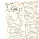 S S Ltd 1929 Service Station By Rollin Whittick Assembly Instructions Kit 101