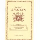 The Family Simons Thimblers To America For 130 Years By John J. von Hoelle