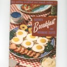 Brunch Breakfast And Morning Coffee Cookbook Vintage Culinary Arts 107 1955
