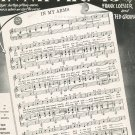 Vintage In My Arms Sheet Music Saunders Publications