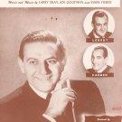 Vintage Everywhere You Go Sheet Music Lombardo Music Inc.