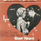 Vintage Dear Heart Sheet Music Northridge Music Inc.