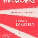 Vintage Fireworks Sheet Music Carl Fischer Inc.