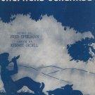 Vintage Shepherd Serenade Sheet Music Mayfair Music Corp.