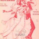 Vintage Spanish Roses Waltz Serenade Sheet Music Harold Flammer Publisher