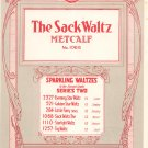 Vintage The Sack Waltz  Sheet Music Century Music Publishing Co.