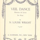 Vintage Veil Dance Sheet Music G. Schirmer Inc.