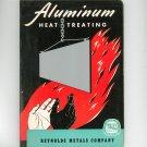 Vintage Aluminum Heat Treating Reynolds Metals Company 1954