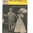 Playbill Destry Rides Again Imperial Theatre Souvenir Program 1959 Vintage