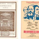 Heartbreak House Program With Flyer Theatre Royal Haymarket Souvenir Theatre Print 1983