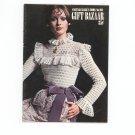 Vintage Coats & Clark's Book No. 204 Gift Bazaar Knit Crochet