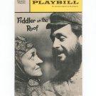 Playbill Fiddler On The Roof Majestic Theatre Souvenir Program 1967