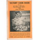 Vintage Victory Cookbook Promotional Item For Lysol 1943