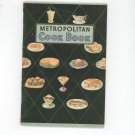 Vintage Metropolitan Cook Book Cookbook
