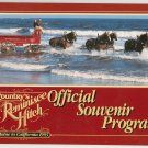 Country's Reminisce Hitch Souvenir Program 1993 Horse