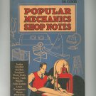 Vintage Popular Mechanics Shop Notes 1938 Volume 34