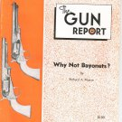The Gun Report September 1976 Why Not Bayonets Richard Munno