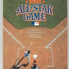 Souvenir 1992 San Diego Padres All Star Game Gameday Program Official