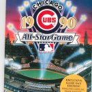 Souvenir 1990 Chicago Cubs All Star Game Gameday Program Official